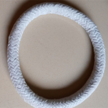 Ceramic fiber sealing ring