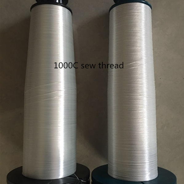 High temperature sew thread